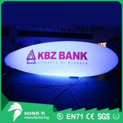 Outdoor LED light remote control inflatable airship