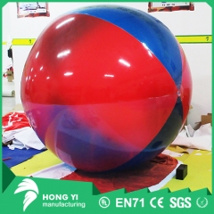 Pvc transparent inflatable colorful color inflatable decorative ball