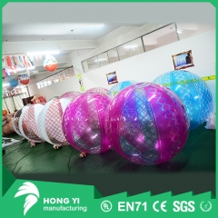 Advertising pattern printing inflatable transparent PVC beach balloon